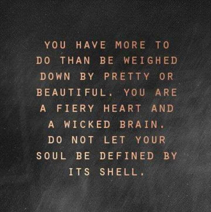 your feiry heart is more beautiful than your beauty ever could be