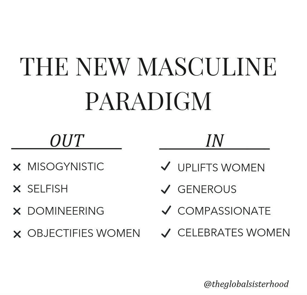 What a new paradigm man is and is not